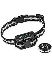 GLEADING Collar Antiladridos con Sonido Y Vibración, Collar De Módulo Inteligente De Detección De Ladridos para Perros