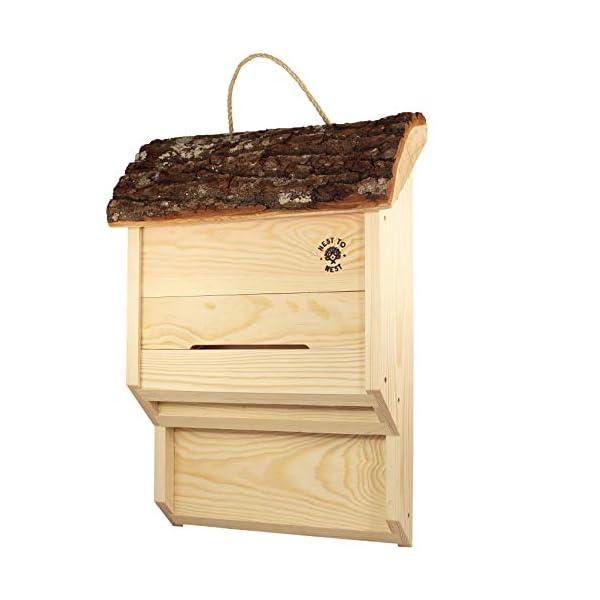 NEST TO NEST Bat Box | Bat House | Bat Box For Garden, Premium Quality