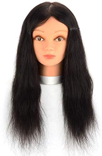 Mannequins de couture reglable Chef de Formation Head Mannequin Barber Shop Perm Cheveux Dyeing Pratique Perruque tête Modèle Coupe de Cheveux de Maquillage Porte vêtement Mannequin