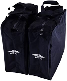 Bestem LGHD-HERIT-SDL Black Saddlebag Liners for Harley Davidson Heritage Softail, Pair