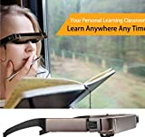 SSEDEW Vision 800 Smart Android WiFi Glasses Wide Screen Portable Video 3D Glasses Private Theater with Bluetooth Camera