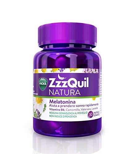 Procter & Gamble Integratore Alimentare Vicks Zzzquil Natura, 30 Pastiglie