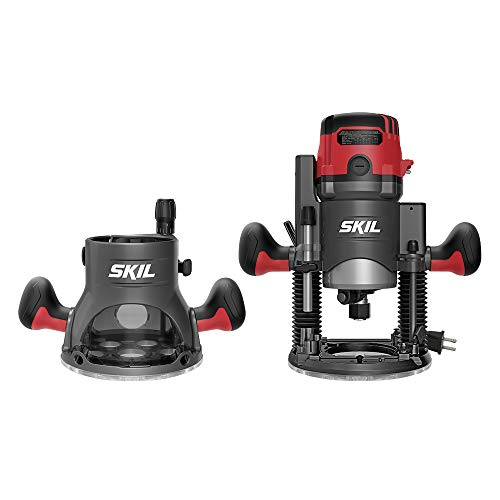 SKIL 14 Amp Plunge and Fixed Base Router Combo —