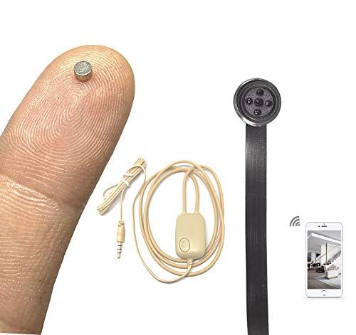 Pinga Nano V2 + Cámara Botón Espía WiFi (Negro)