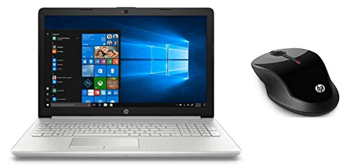HP 15 da1041tu 2019 15.6-inch Laptop (8th Gen Core i5-8265U/8GB/1TB/Windows 10/Integrated Graphics), Natural Silver