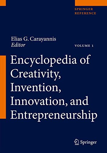 Encyclopedia of Creativity, Invention, Innovation and Entrepreneurshipの詳細を見る