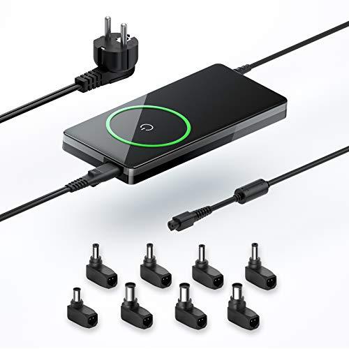 QYD 90W Laptop Universal Netzteil Ladegerät Ladekabel für Ac Adapter ASUS Lenovo IBM HP Dell Acer Sony Toshiba Notebook Power Supply Cord mit 8 Steckers 5V 2A USB für die meisten Tablet PC Smartphones