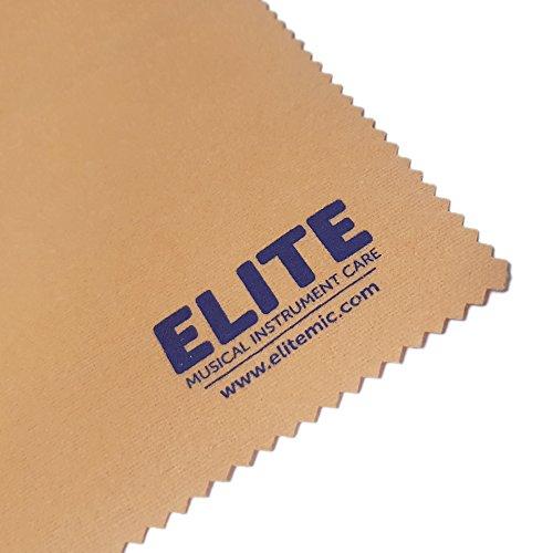 Elite MIC - Gamuza impregnada para la limpieza y brillo de instrumentos de viento metal