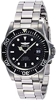 Invicta Pro Diver Men's Black Dial Stainless Steel Band Automatic Watch - INVICTA-8926