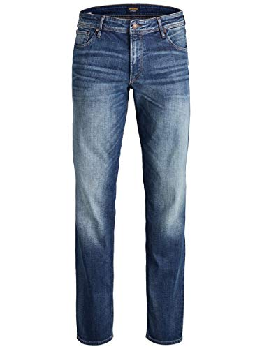 JACK & JONES Male Regular fit Jeans Clark ORIGINAL JOS 178 3436Blue Denim