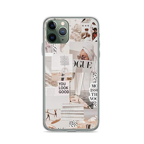 Coastal Vogue Vsco Collage Phone Case Compatible with iPhone 6 6s 7 8 Plus X Xs Xr 11 Pro Max Samsung Galaxy Note S9 S10 S20 Plus