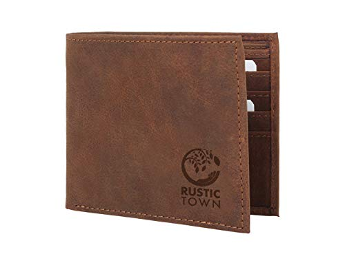 Rustic Town Portefeuille Homme Etui RFID...