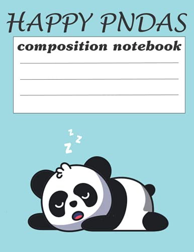 pandas journal diary notebook for mom: sketch book notebook, 8.5*x11 inch