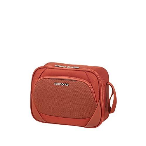 Samsonite Dynamore Borsa Cosmetica da Viaggio, 28 cm, 6.5 L, Arancione (Burnt Orange)