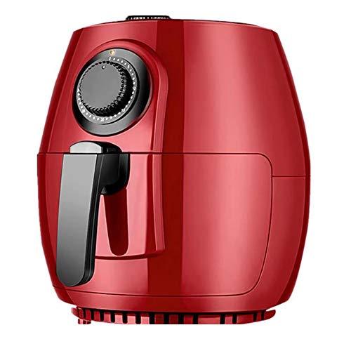 Freidora de aire caliente, sin grasa, capacidad de 4.5 litro