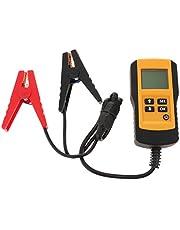 バッテリー テスター バッテリーチェッカー デジタル LCD 電圧 抵抗 CCA値測定 12V