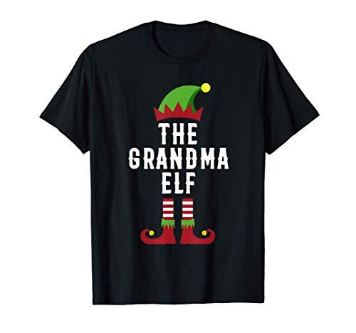 The Grandma Elf Christmas Gifts for Grandma T-Shirt