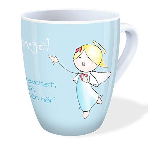 Engel Tasse: Schutzengel-Tasse - Wenn du mich brauchst, so rufe ...