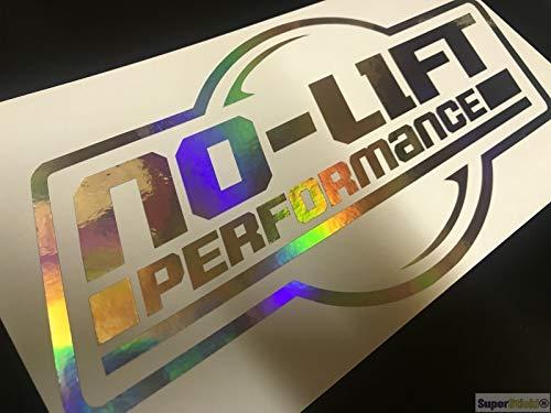 SUPERSTICKI no Lift Performance Oil Slick Folie Hologramm Auto Tuning Aufkleber ca 20cm Autoaufkleber
