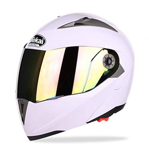 Casco integral de motocicleta de doble visera Cascos de motocross Casco integral de doble visera Racing Casco modular