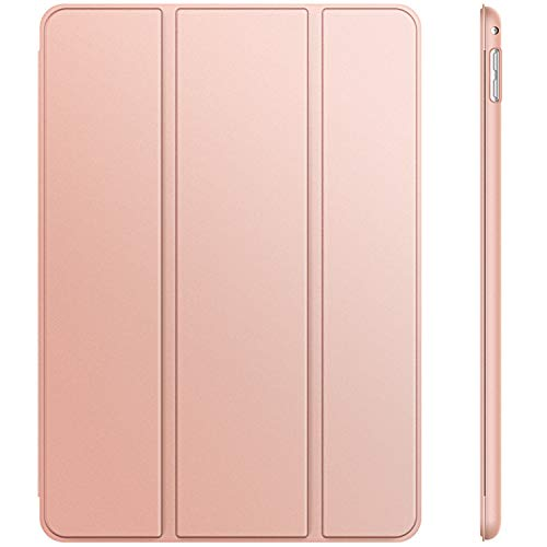 JETech Case for Apple iPad Mini 4, Smart Cover with Auto Sleep/Wake, Rose Gold