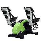 LCJ Bicicleta de rehabilitación - Ejercitador de Pedal eléctrico, Pedal de Mini Ciclo Resistencia al Ejercicio Bicicleta Fitness Gym - Peddler médico para Ejercicio de recuperación de Brazo y Rodilla