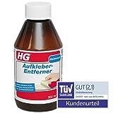 HG Aufkleber-Entferner 2er Pack (2x 300 ml) – Entfernt Mühelos Aufkleber, Etikettenleim, Gummileim - Fast allen Untergründen