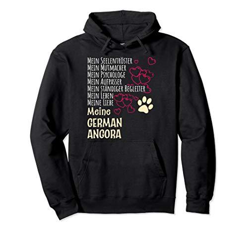 Damen Kätzchen Katzenliebhaber Geschenk German Angora Katze Pullover Hoodie