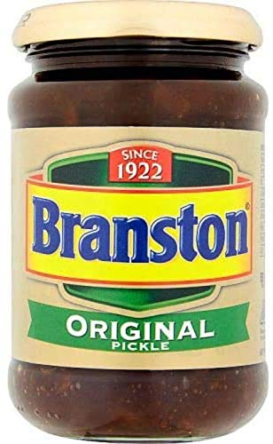 Branston Original Pickle 310g, Perfect voor sandwiches, strooi wat Branston augurk als vulling en geniet tijdens de…