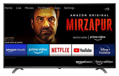 AmazonBasics 139cm Fire Edition 4K LED TV