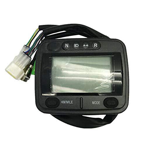 GEEKEN Motorrad Instrument Tachometer Montage Instrument ATV LCD KilometerzzHler für Buyang Feishen ATV 300CC D300 G300 H300