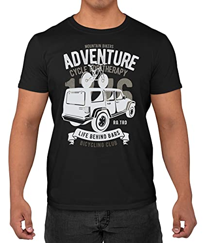 Gordon Stone Mountain Bike Adventure - Cycle for Therapy Classic Unisex T-Shirt Vintage Shirt T-Shirt Adults Shirts Black