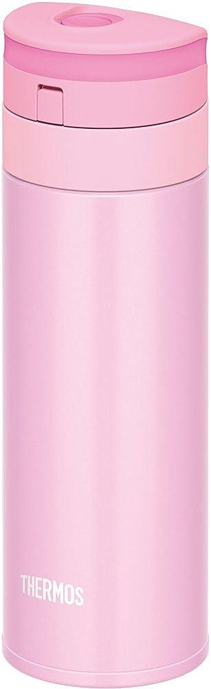 天才花輪閃光サーモス 水筒 真空断熱ケータイマグ 【ワンタッチオープンタイプ】 350ml パールピンク JNS-351 PRP