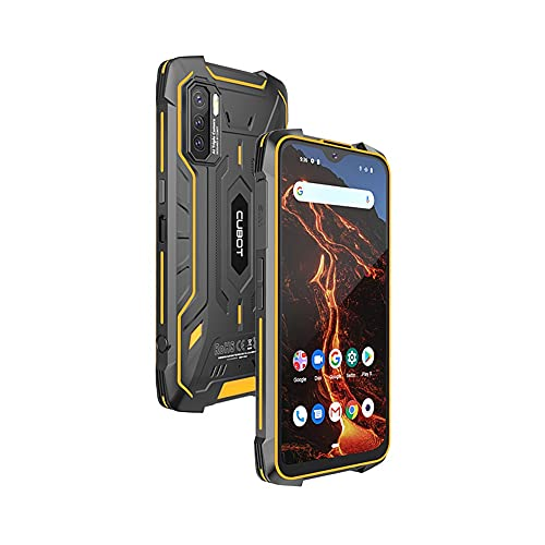 """CUBOT King Kong 5 Pro - Smartphone de 6.1"""" HD+, 4GB y 64GB, Cámara Triple 48 MP, Batería 8000mAh, Android 11, Procesador Octa Core, Color Negro"""