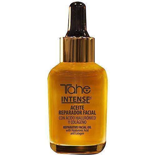 Tahe Intense Aceite Reparador Natural y Rejuvenecedor Facial con Ácido Hialurónico y Colágeno, 30 ml