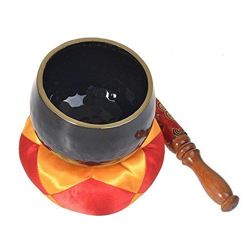Sale!! DZX Yoga Bowl Meditation Bowl Tibetan Singing Bowl Nepalese Handmade Copper Buddha Sound Bowl...