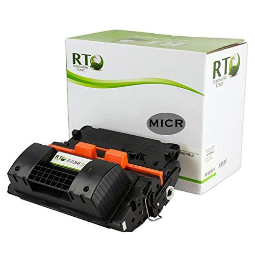 Renewable Toner Compatible MICR High Yield Toner Cartridge Replacement for HP 64X CC364X Laserjet P4015 P4515