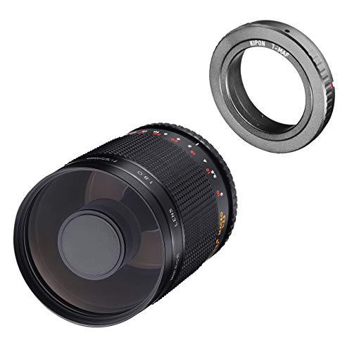 Samyang MF - Obiettivo a specchio 500 mm F8.0 Sony A Mount - DSLR, teleobiettivo CSC, messa a fuoco manuale, diametro filtro 72 mm, per formato pieno e APS-C