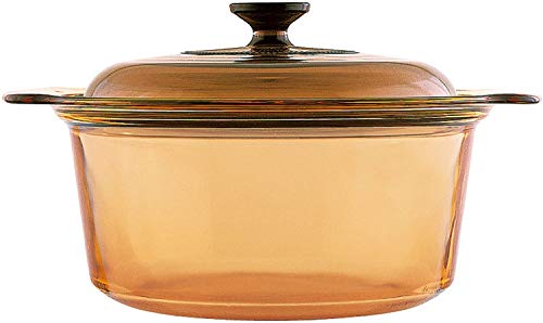 Visions 5L Round Dutch Oven With Glass Lid Image