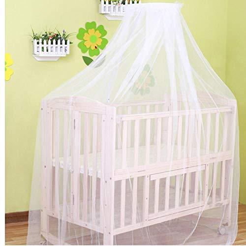 PiniceCore 2019 bebé colgado hogar Mosquitera Cama Cuna Blanca Cortina de la Tienda Cuna portátil para Cortinas de la Cama de bebé para el bebé