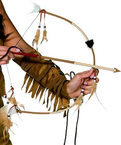 De Luxe à Plumes Noeud & Flèche Robin des Bois Cow-Boy & Indien Accessoire Déguisement