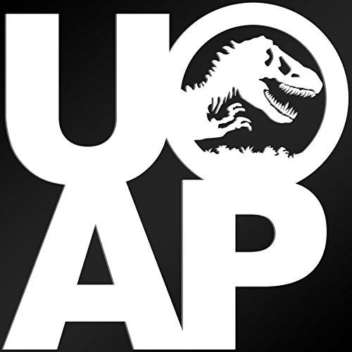 ChrisLopezArt Decals Jurassic Park Universal Passholder Decal (4 x 4 inches) UOAP
