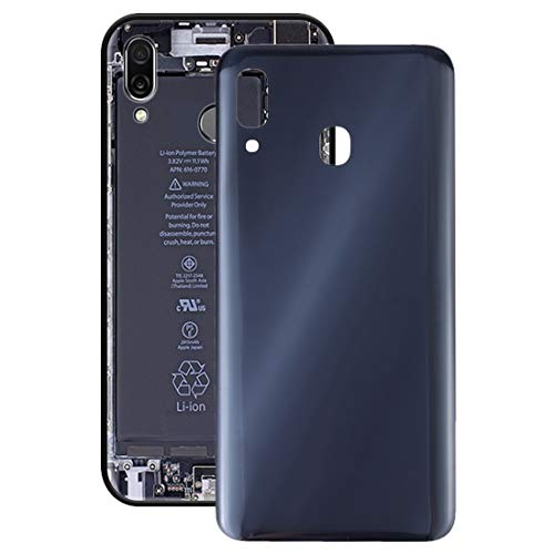 Mobile Phone Replacement Accessories Battery Back Cover for Galaxy A30 SM-A305F/DS, A305FN/DS, A305G/DS, A305GN/DS (Black) (Color : Blue)