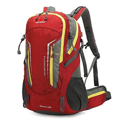 LOCALLION Zaino da Trekking Montagna 40 Litri Zaino 40L Escursionismo Campeggio Viaggio Hiking Uomo Donna Unisex Impermeabile Leggero Outdoor Sport in Nylon