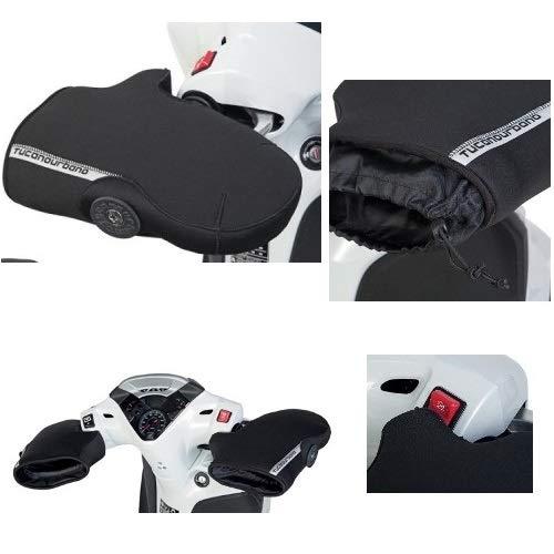 Compatibel met YAMAHA T MAX 530 ABS 2011-2014 waterdicht Tucano Urbano R363-X handdoek in neopreen voor mannen met wit met kerst