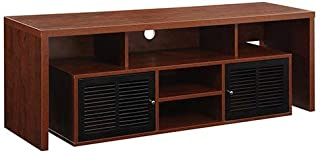Convenience Concepts Designs2Go Modern Lexington 60-Inch TV Stand, Cherry