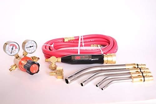 Arc Union Air Acetylene Torch Kit Fuel Gas kit industry standard tips one year warranty