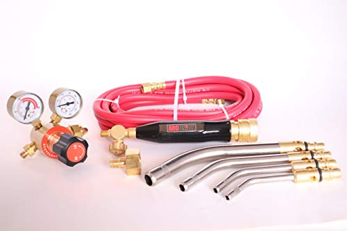 Arc Union Air Acetylene Torch Kit Fuel Gas kit industry standard tips one year warranty