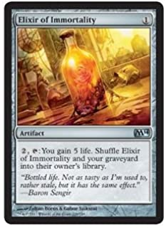 Magic The Gathering - Elixir of Immortality (209/249) - Magic 2014