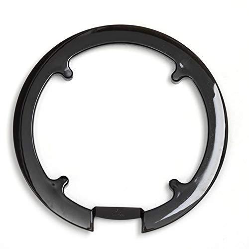 Kettenschutzring,Kettenschutzscheibe für Ihr Fahrrad -42T 44T,Kurbelgarnitur Abdeckung Fahrrad-Kettenschutz,Kunststoff Schwarz für Mountainbike Fahrrad